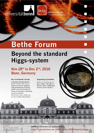 Poster Beyond the standard Higgs-system